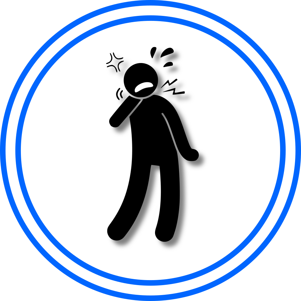 neck pain icon